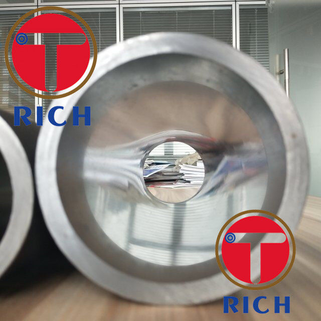 16mn 25mn 20# 45# Hydraulic Cylinder Tube Steel Tubing Cold Drawn Oiled Surface