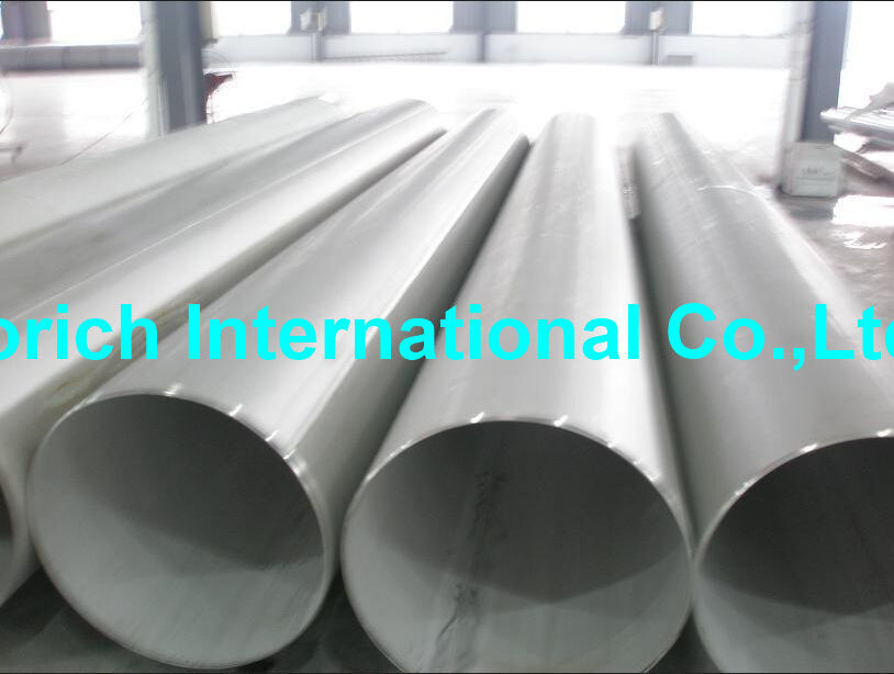 High Temperature Chromium Nickel Alloy Tube A358 / A358M Welded Stainless Steel Pipe